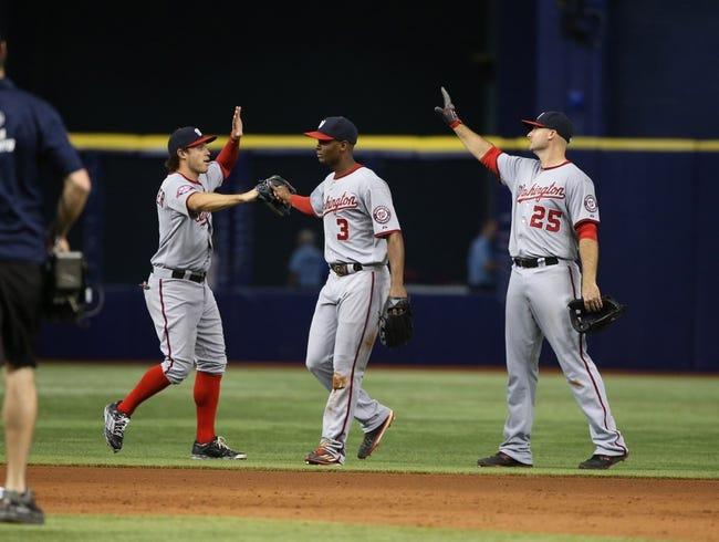 Washington Nationals vs. Tampa Bay Rays - 6/18/15 MLB Pick, Odds, and Prediction