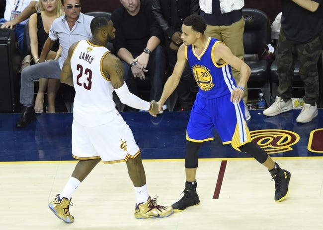 Cavaliers at Warriors Game 1 - 6/2/16 NBA Pick, Odds, and Prediction