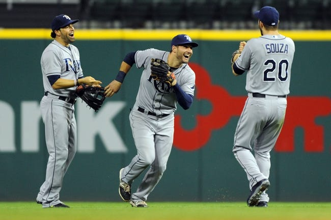 Cleveland Indians vs. Tampa Bay Rays - 6/20/15 MLB Pick, Odds, and Prediction