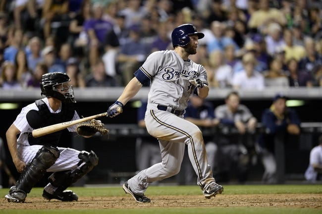 Rockies vs. Brewers - 6/21/15 MLB Pick, Odds, and Prediction