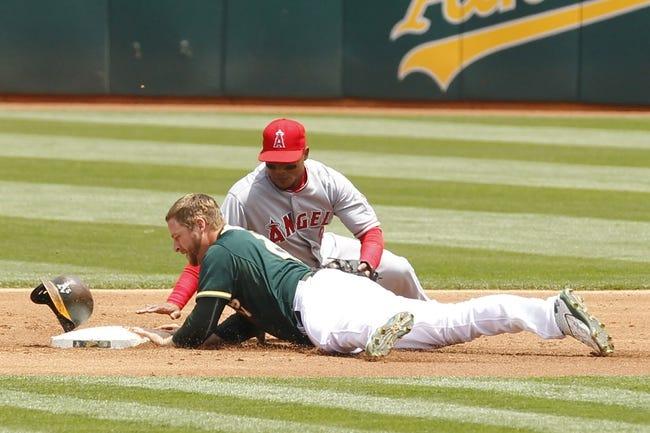 Oakland Athletics vs. Los Angeles Angels - 6/21/15 MLB Pick, Odds, and Prediction