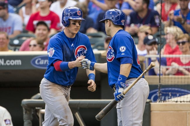 Minnesota Twins vs. Chicago Cubs - 6/21/15 MLB Pick, Odds, and Prediction