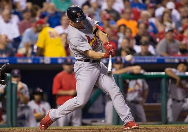 Philadelphia Phillies vs. St. Louis Cardinals - 6/21/15 MLB Pick, Odds, and Prediction