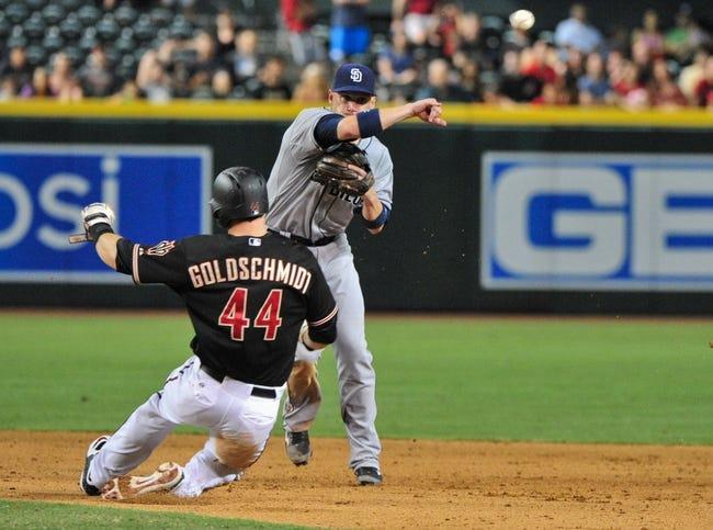 Arizona Diamondbacks vs. San Diego Padres - 6/21/15 MLB Pick, Odds, and Prediction
