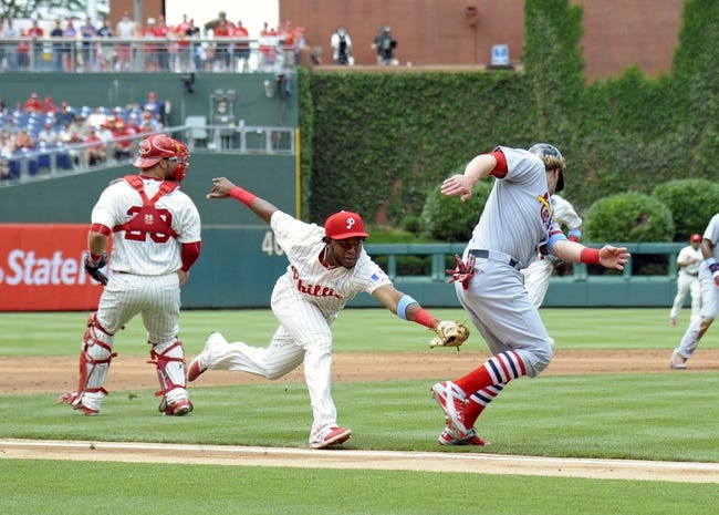 St. Louis Cardinals vs. Philadelphia Phillies - 5/2/16 MLB Pick, Odds, and Prediction
