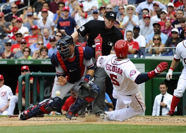Atlanta Braves vs. Washington Nationals - 6/30/15 MLB Pick, Odds, and Prediction