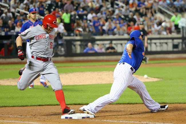 Mets vs. Reds - 6/27/15 MLB Pick, Odds, and Prediction