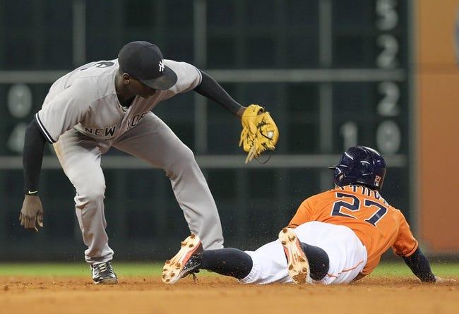 Houston Astros vs. New York Yankees - 6/27/15 MLB Pick, Odds, and Prediction