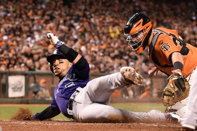 San Francisco Giants vs. Colorado Rockies - 6/27/15 MLB Pick, Odds, and Prediction