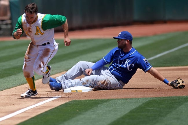 Athletics vs. Royals - 6/28/15 MLB Pick, Odds, and Prediction