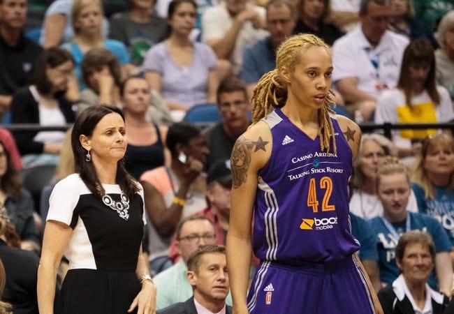 Los Angeles Sparks vs. Phoenix Mercury - 8/21/15 WNBA Pick, Odds, and Prediction
