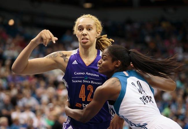 Minnesota Lynx vs. Phoenix Mercury - 8/7/15 WNBA Pick, Odds, and Prediction