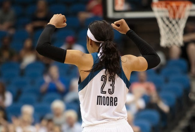 Connecticut Sun vs. Minnesota Lynx - 7/22/15 WNBA Pick, Odds, and Prediction