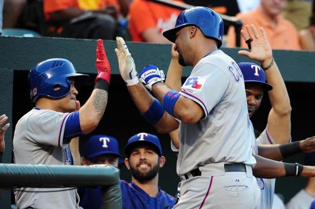 Orioles vs. Rangers - 6/30/15 MLB Pick, Odds, and Prediction