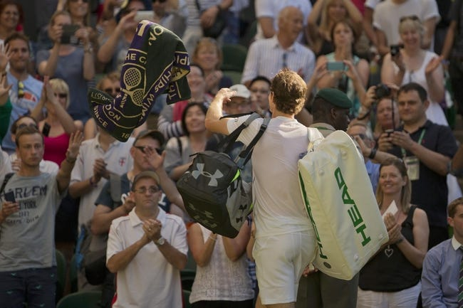 Robin Haase vs. Andy Murray 2015 Wimbledon Tennis Pick, Odds, Prediction