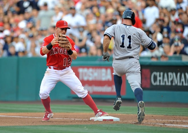 New York Yankees vs. Los Angeles Angels - 6/6/16 MLB Pick, Odds, and Prediction
