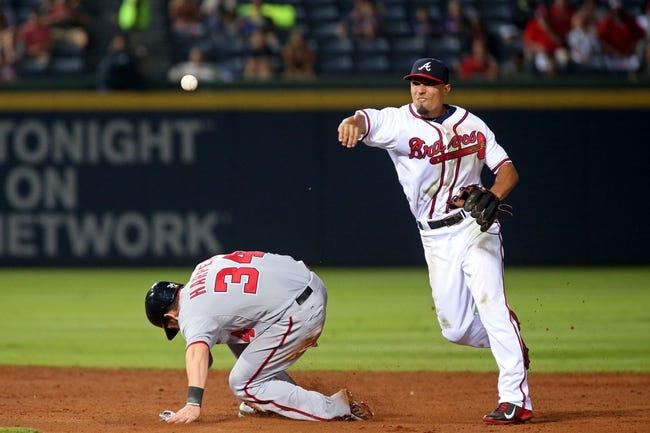 Atlanta Braves vs. Washington Nationals - 7/2/15 MLB Pick, Odds, and Prediction