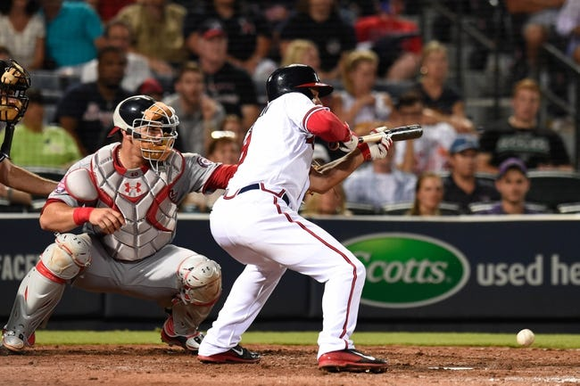 Braves at Nationals - 9/3/15 MLB Pick, Odds, and Prediction