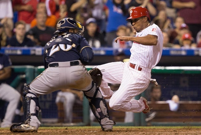 Milwaukee Brewers vs. Philadelphia Phillies - 8/14/15 MLB Pick, Odds, and Prediction