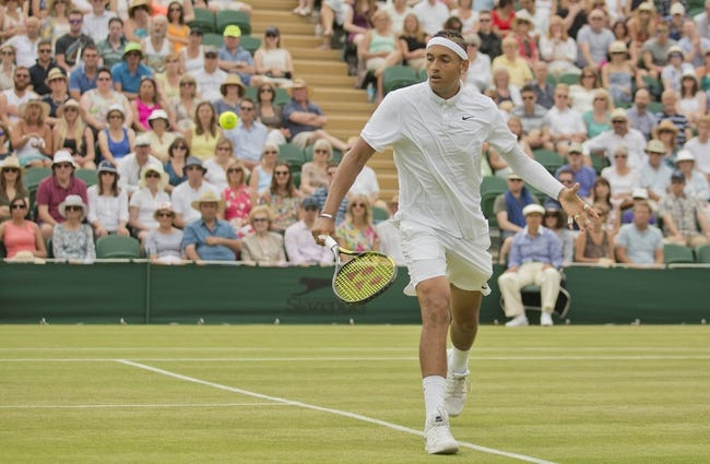 Nick Kyrgios vs. Radek Stepanek 2016 Wimbledon Pick, Odds, Prediction