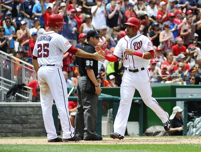 Washington Nationals vs. San Francisco Giants - 7/5/15 MLB Pick, Odds, and Prediction