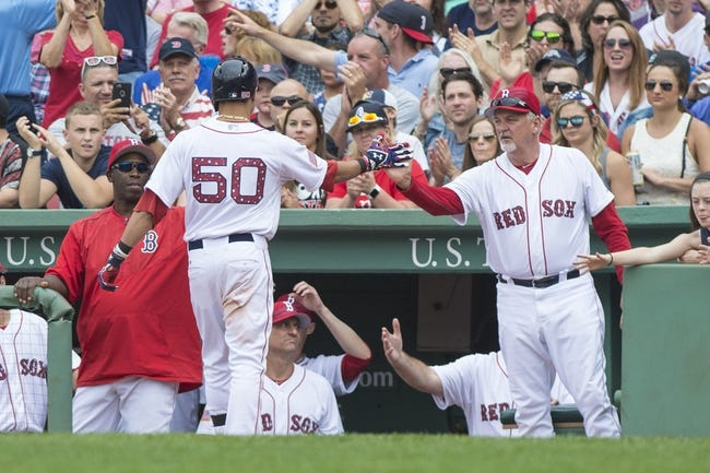 Red Sox vs. Astros - 7/5/15 MLB Pick, Odds, and Prediction