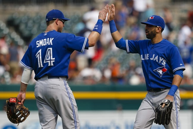 Blue Jays vs. Tigers - 8/28/15 MLB Pick, Odds, and Prediction