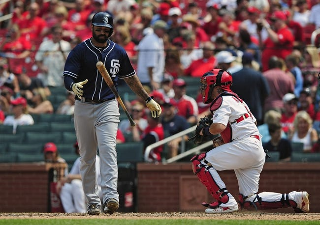 San Diego Padres vs. St. Louis Cardinals - 8/21/15 MLB Pick, Odds, and Prediction