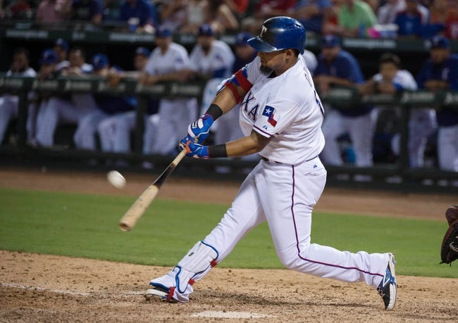 Los Angeles Angels vs. Texas Rangers - 7/24/15 MLB Pick, Odds, and Prediction