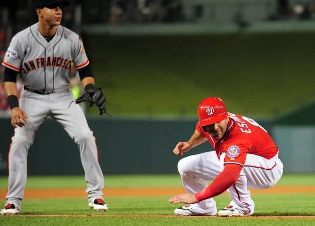 San Francisco Giants vs. Washington Nationals - 8/13/15 MLB Pick, Odds, and Prediction
