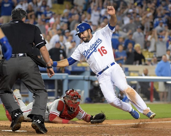 Los Angeles Dodgers vs. Philadelphia Phillies - 7/7/15 MLB Pick, Odds, and Prediction