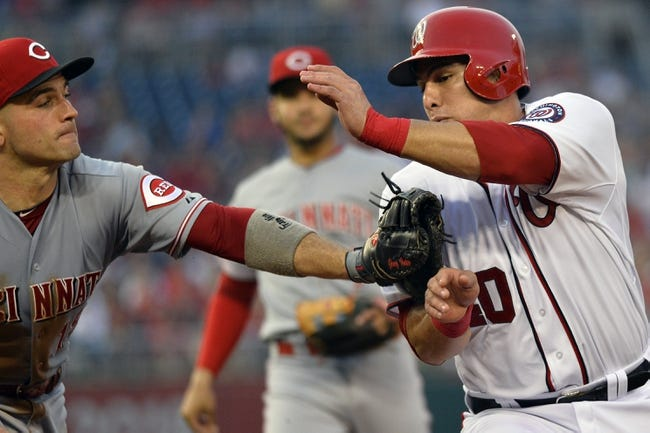 Nationals vs. Reds - 9/28/15 MLB Pick, Odds, and Prediction