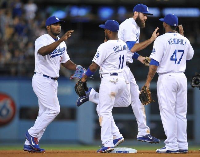 Los Angeles Dodgers vs. Philadelphia Phillies - 7/9/15 MLB Pick, Odds, and Prediction