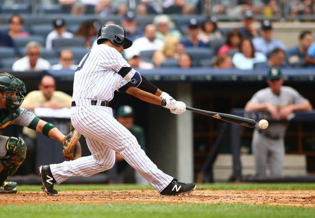 Yankees vs. Athletics - 4/19/16 MLB Pick, Odds, and Prediction