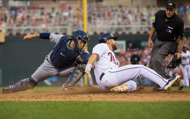 Minnesota Twins vs. Detroit Tigers - 7/10/15 MLB Pick, Odds, and Prediction