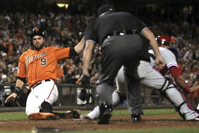 San Francisco Giants vs. Philadelphia Phillies - 7/11/15 MLB Pick, Odds, and Prediction