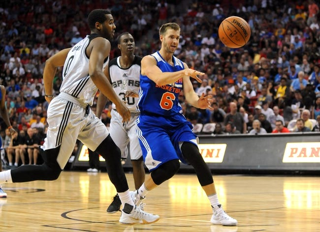 New York Knicks vs. San Antonio Spurs - 11/2/15 NBA Pick, Odds, and Prediction