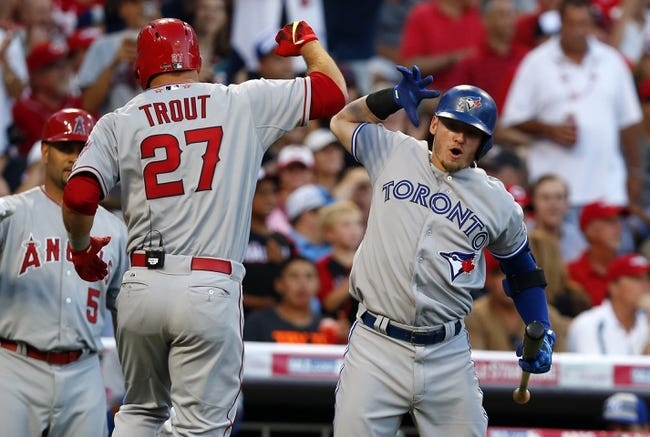 Angels vs. Blue Jays - 8/21/15 MLB Pick, Odds, and Prediction