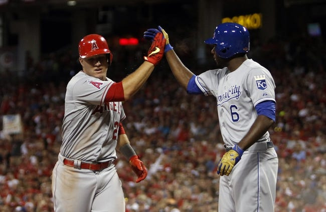 Royals vs. Angels - 8/13/15 MLB Pick, Odds, and Prediction