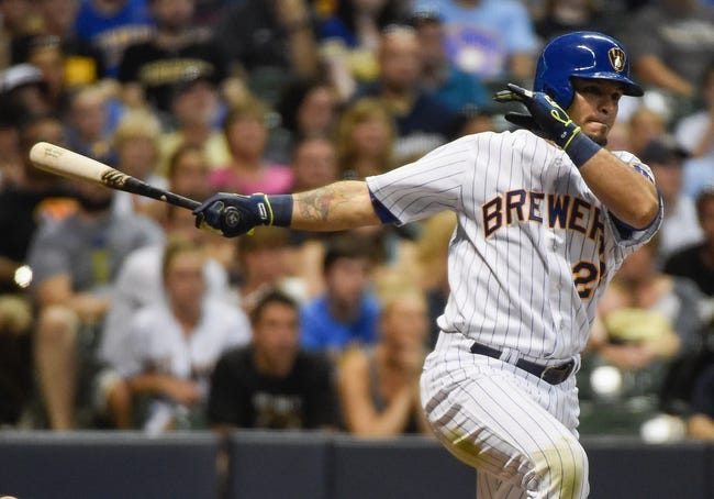 Milwaukee Brewers vs. Pittsburgh Pirates - 7/19/15 MLB Pick, Odds, and Prediction