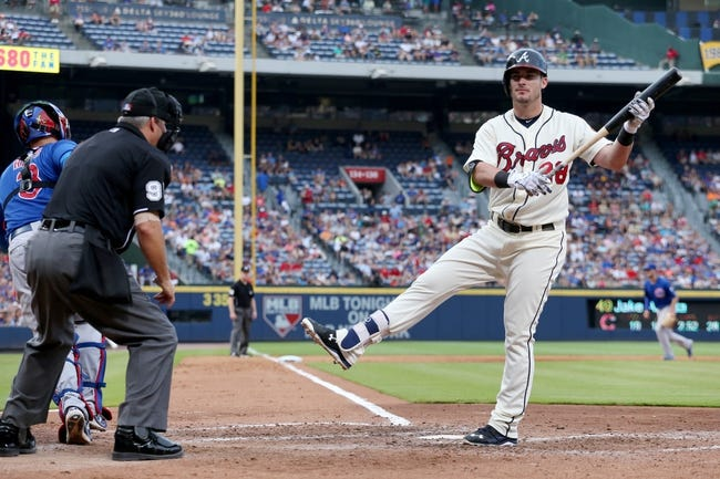 Cubs vs. Braves - 8/20/15 MLB Pick, Odds, and Prediction