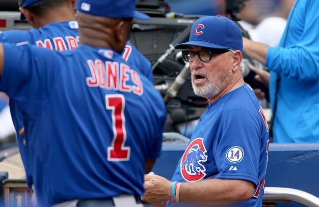 Chicago Cubs vs. Atlanta Braves - 8/21/15 MLB Pick, Odds, and Prediction