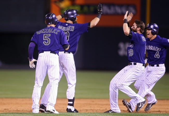 Colorado Rockies vs. Texas Rangers - 7/21/15 MLB Pick, Odds, and Prediction