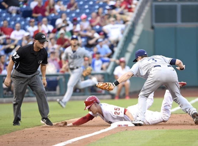 Phillies vs. Rays - 7/22/15 MLB Pick, Odds, and Prediction