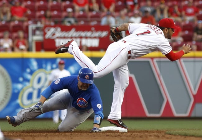 Chicago Cubs vs. Cincinnati Reds - 8/31/15 MLB Pick, Odds, and Prediction