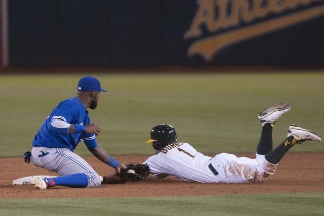 Toronto Blue Jays vs. Oakland Athletics - 8/11/15 MLB Pick, Odds, and Prediction