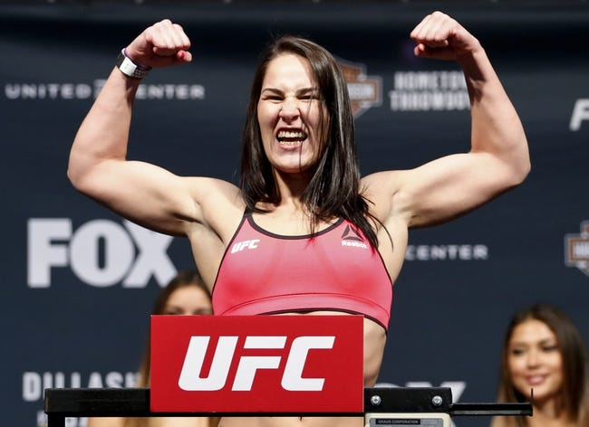 Jessica Eye vs. Julianna Pena MMA Pick, Preview, Odds, Prediction - 10/3/15