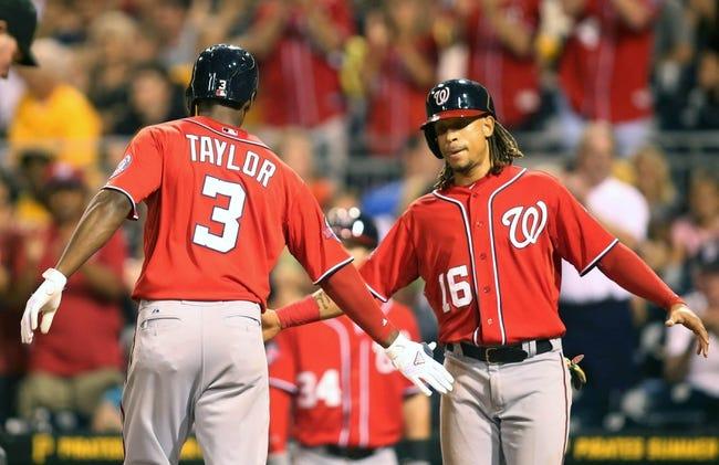 Pirates vs. Nationals - 7/26/15 MLB Pick, Odds, and Prediction
