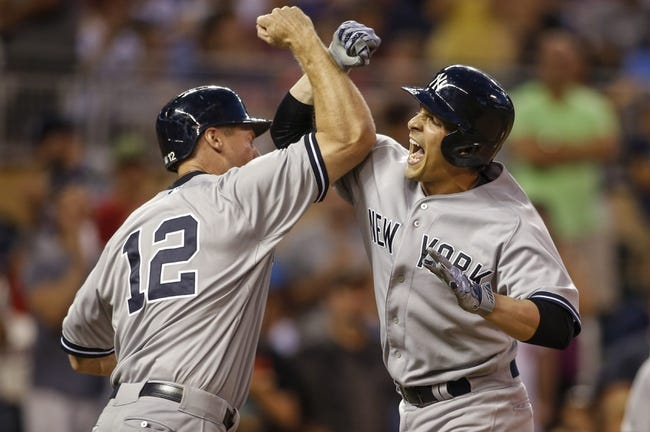Minnesota Twins vs. New York Yankees - 7/26/15 MLB Pick, Odds, and Prediction