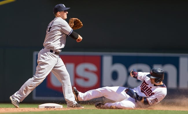 Twins at Yankees - 8/17/15 MLB Pick, Odds, and Prediction